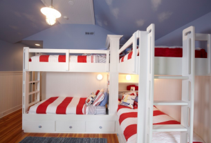 How to build a bunk bed with stairs For Kids