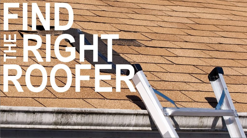 find the right roofer
