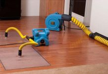 Drying Hardwood Floors