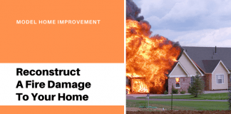 Reconstruct A Fire Damage To Your Home